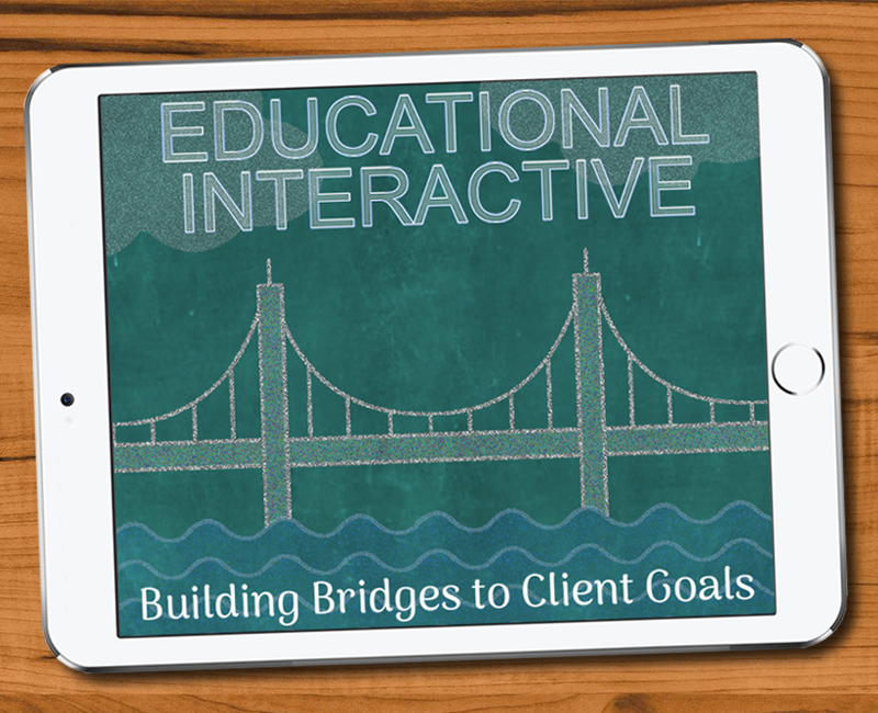 Educational Animations that build bridges tothe goals of teachers and students