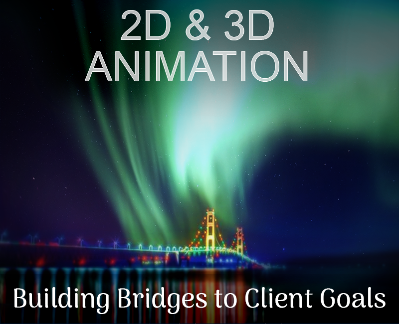 Animation: Building bridges to clients' Cybergoals