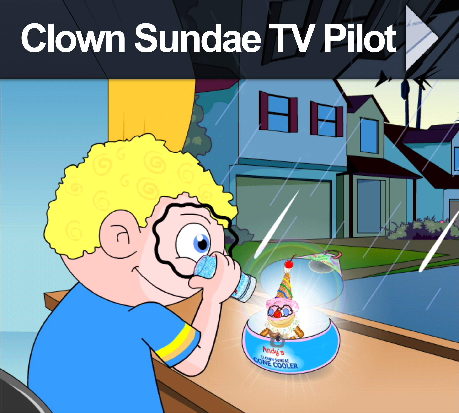Clown Sundae TV Pilot