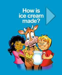 How is ice cream made? Interactive HTML5 for Education