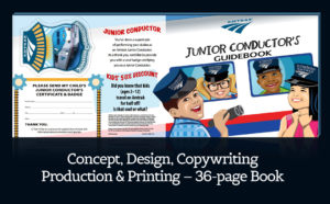 Amtrak Children's Activity Book Creation