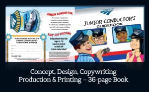 Amtrak Children's Activity Book Creation