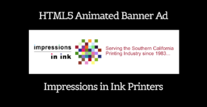 Custom HTML5 Logo animation – Impressions In Ink Trade Printer