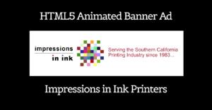 Custom HTML5 Logo animation – Impressions In Ink Trade Printer