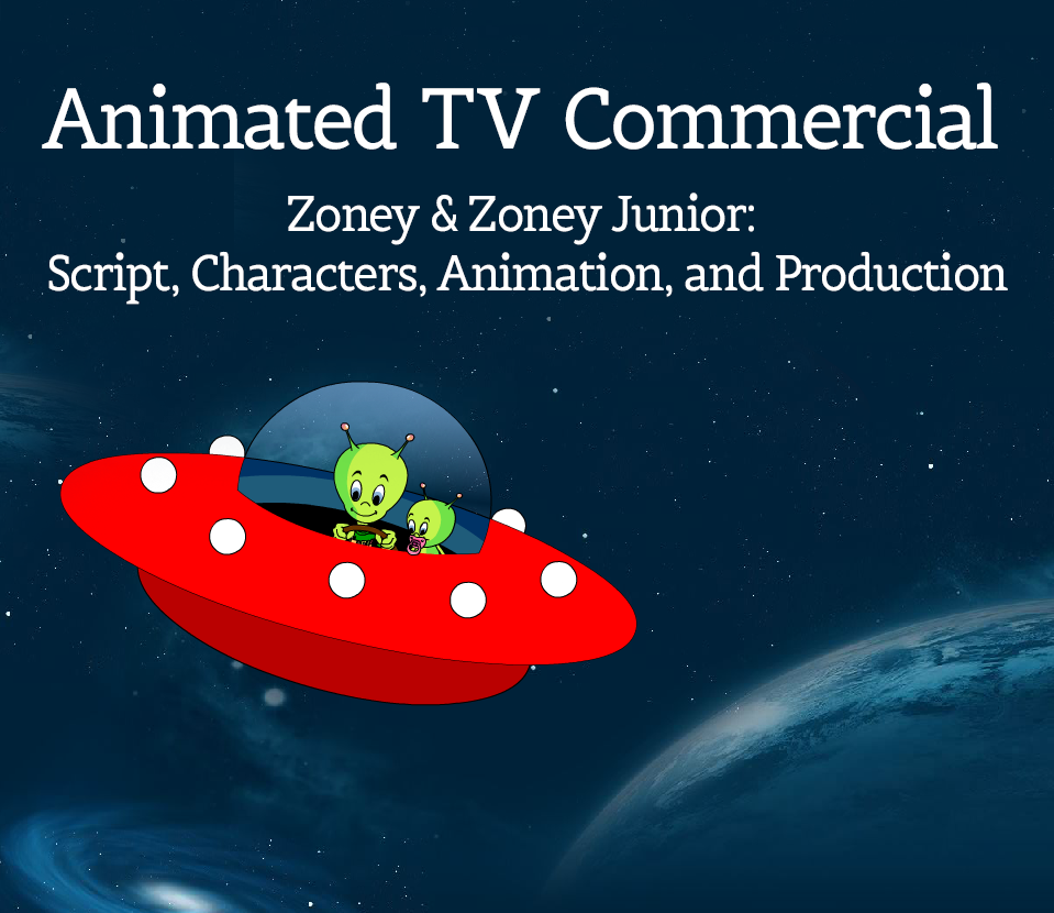 Animated TV Commercial Zoney & Zoney Junior