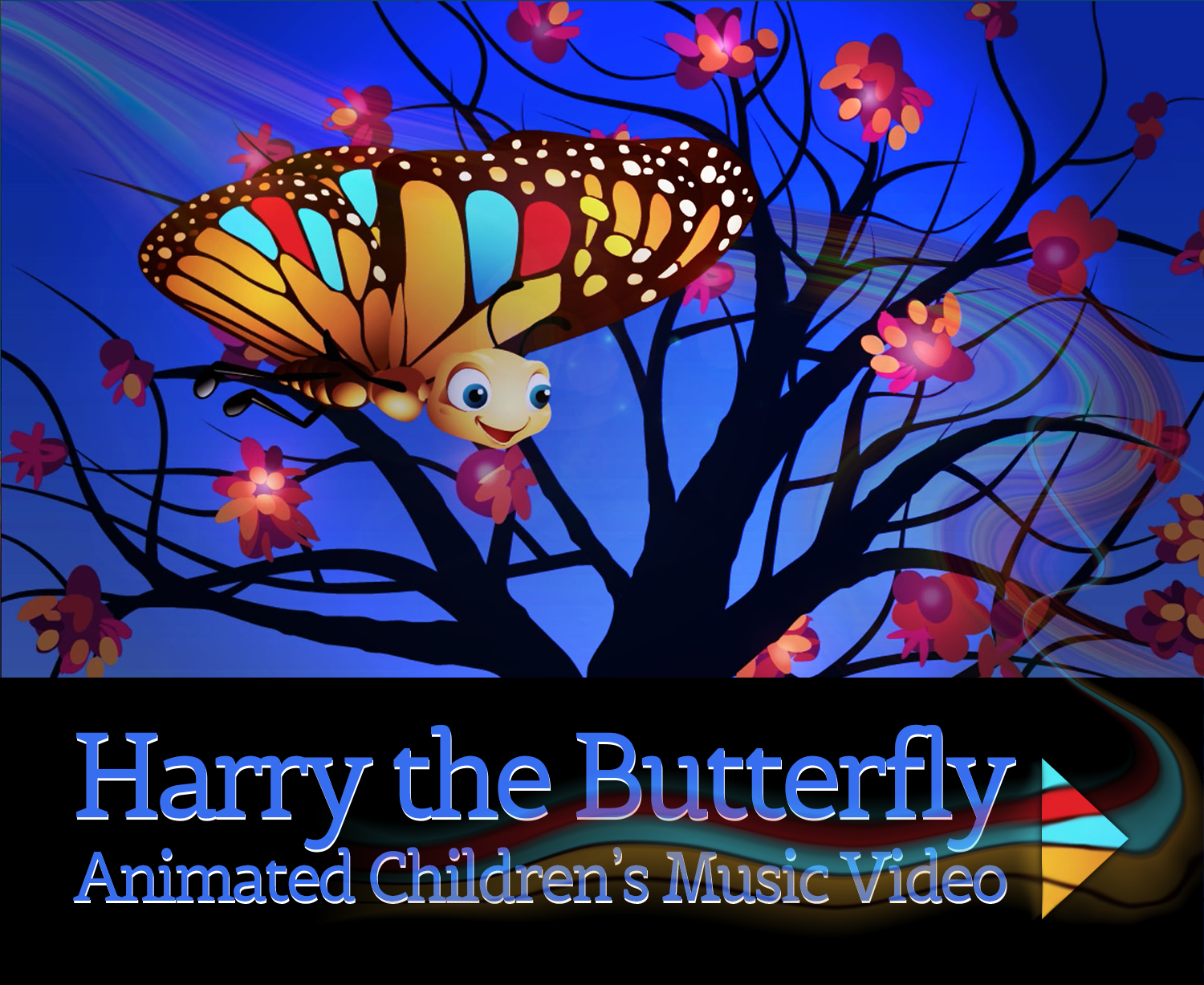Children Animation Harry the Butterfly