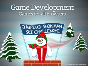 Game Development: Snowman Ski Challenge