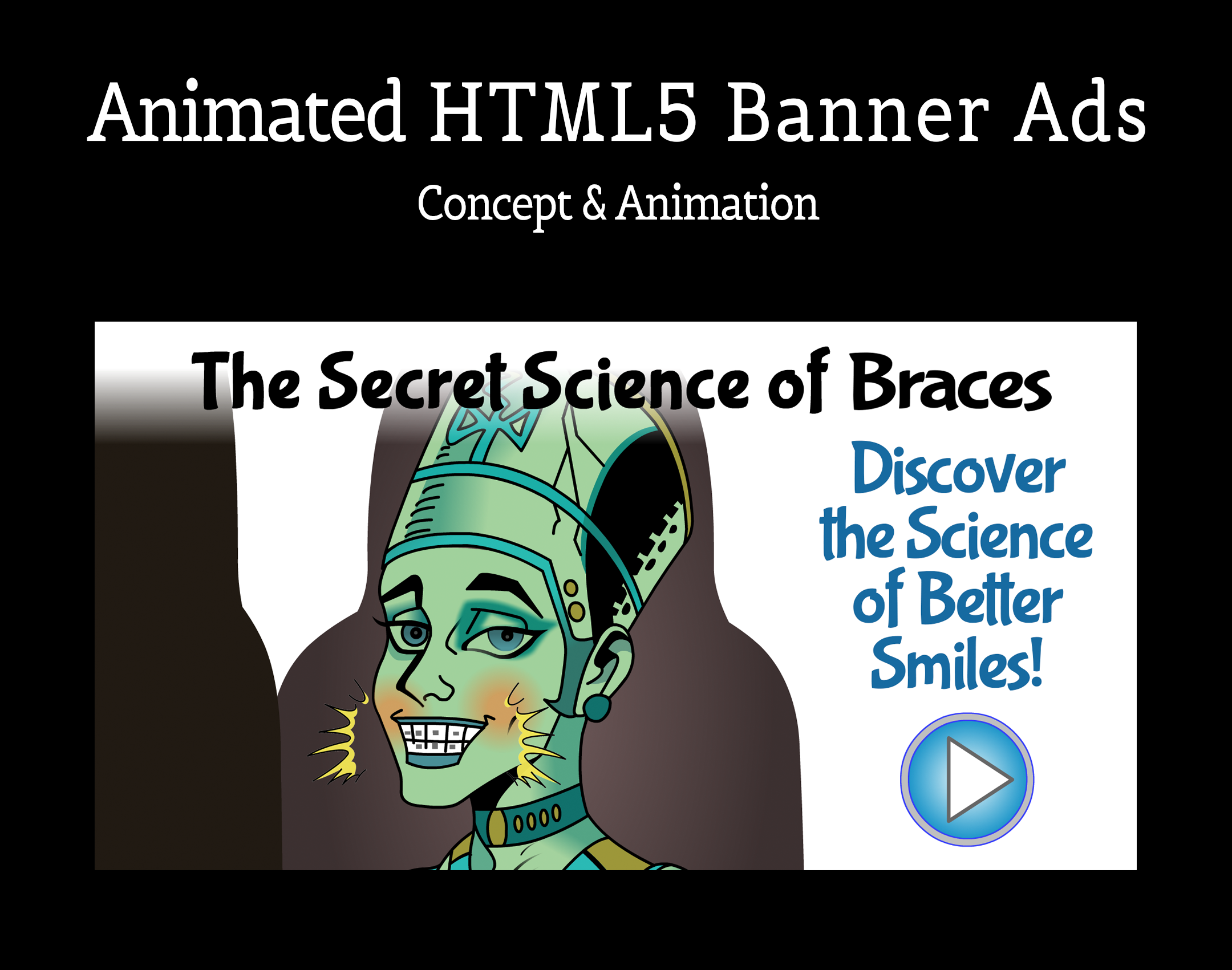 Animated Banner Ads – HTML5: Braces