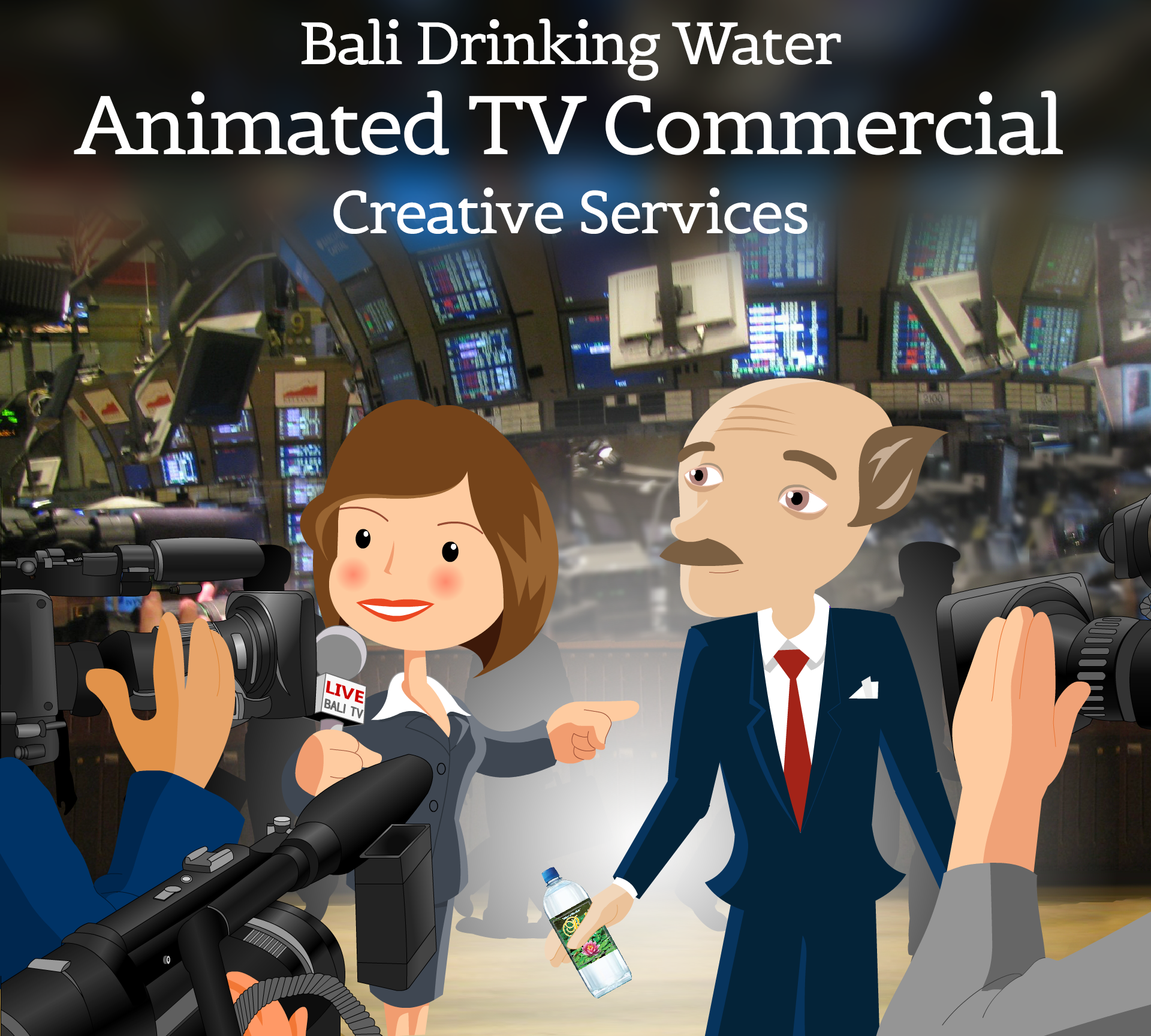 Bali Drinking Water Animated Tv Commercial