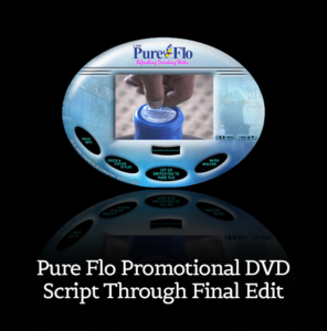 Pure Flo App, Video, Logo and Website
