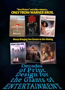 Warner Brothers: Print Advertising