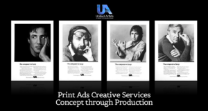 Print Ads – Creative Services