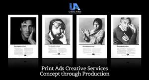 Print Ads – Creative Services