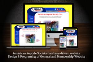 web-design-american-peptide-society-text