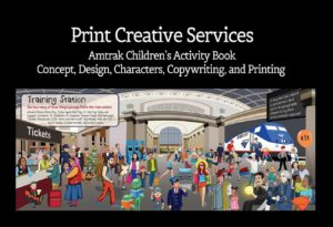cybergoal-amtrak-train-station Book Print Design
