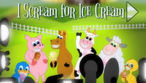 Theater Commercial I Scream for Ice Cream